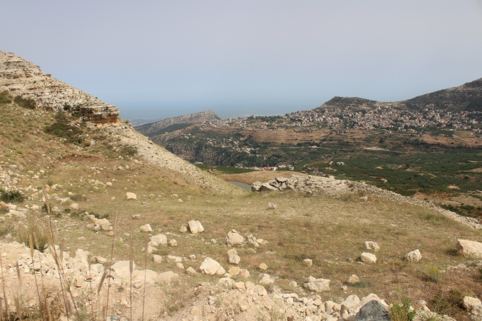 Ayn Bakra, Bann, Kfersghab, Ehden and the Mediteranean