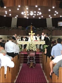 Fr Antoun Funeral